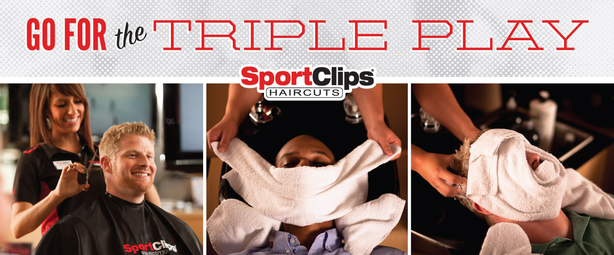 The Sport Clips Haircuts of Parkville  Triple Play